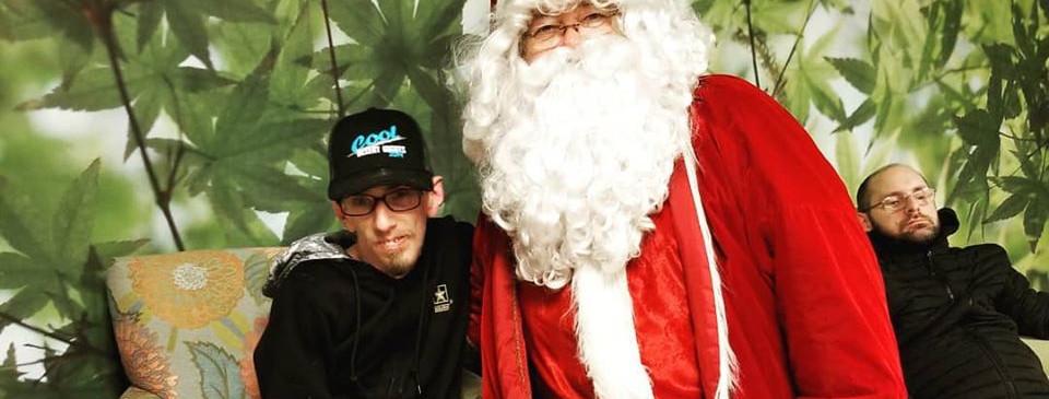 Mugging with Santa 2019