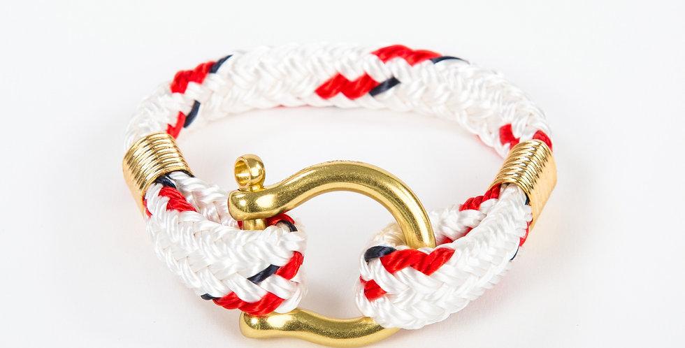 Bosun Yacht Braid Brass Shackle