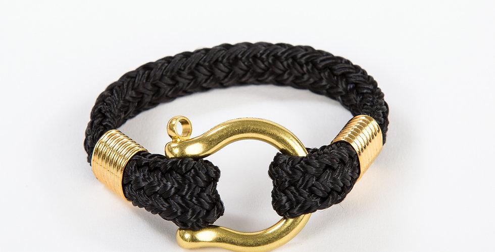 Bosun Classic Black Brass Shackle