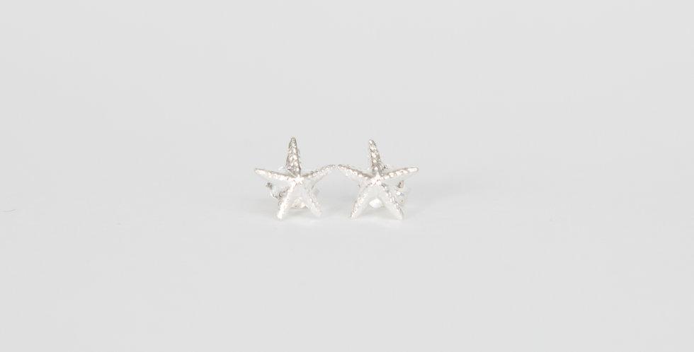 Marblehead Starfish Earrings Sterling Silver