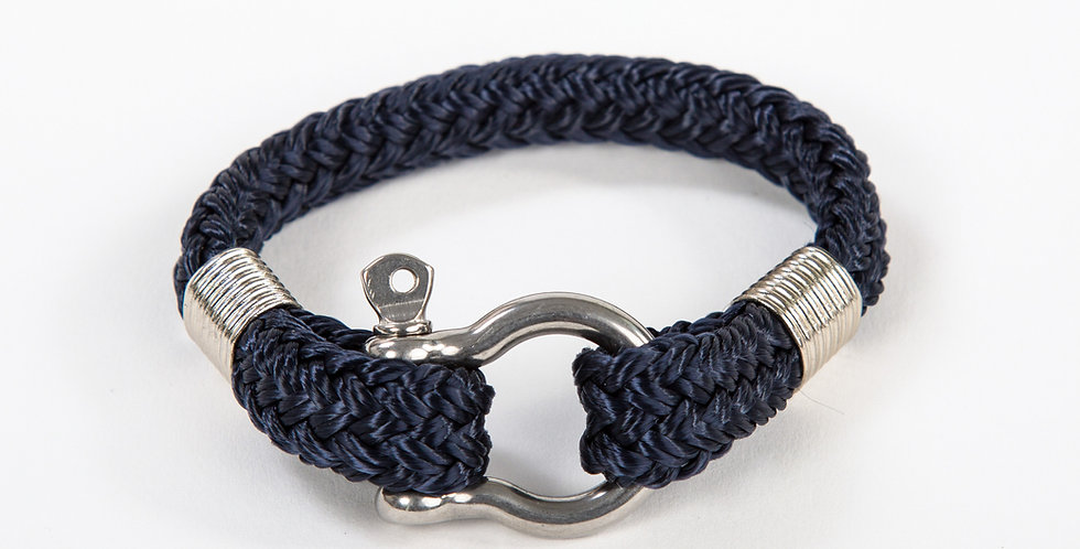 Bosun Classic Navy Stainless Steel Shackle