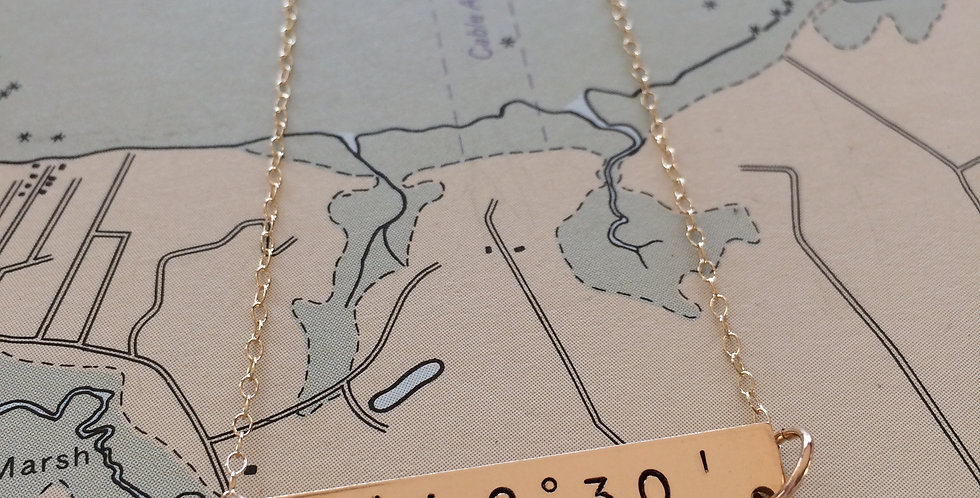 Coastal Gold Necklace