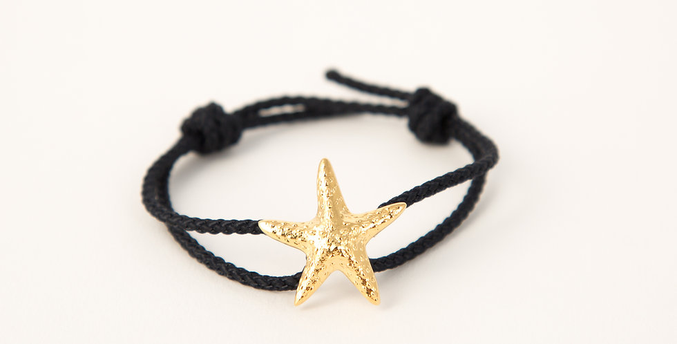 Marblehead Starfish 14kt gold dipped