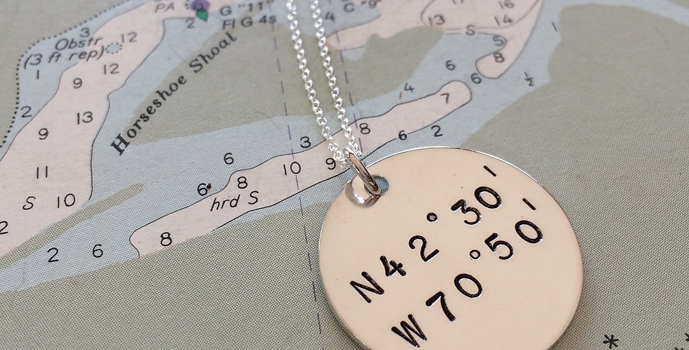 True North Sterling Silver Necklace