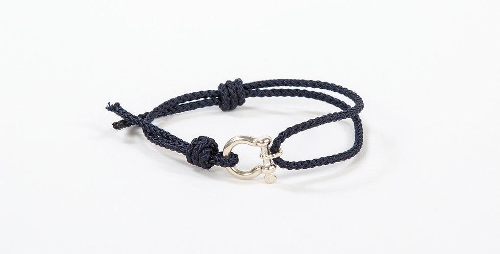 Mariner Shackle Bracelet - Sterling Silver