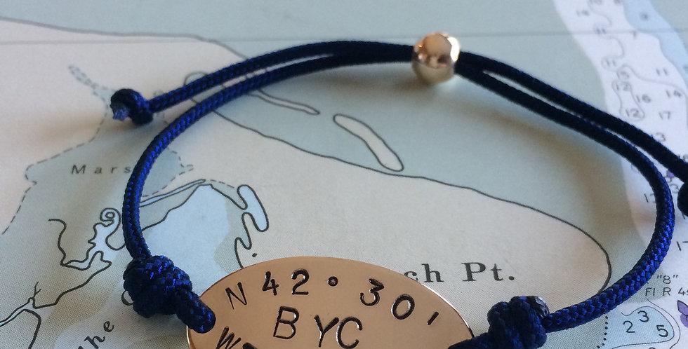Horizon Yacht Club Gold Bead Clasp