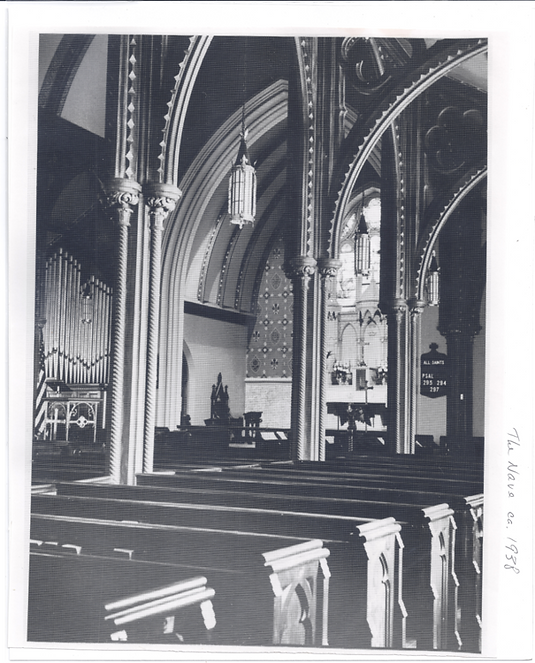 Christ Church in Newton was organized on December 28, 1769.