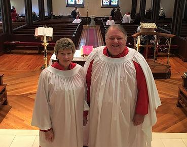 Debbie and Joe Mello, Christ Church Music Department