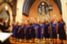 The Children's Chorus of Sussex County is a choir in residence at Christ Church Newton.