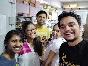 Fun in lab