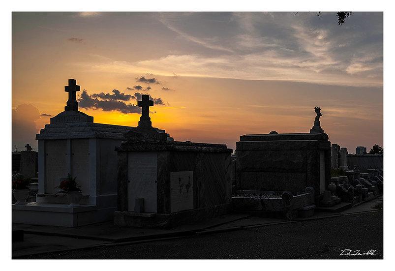 Cemetery Sunset