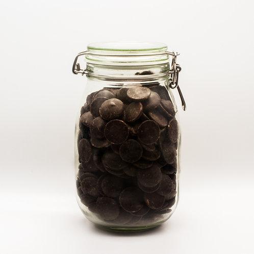 Organic Chocolate Buttons 55%