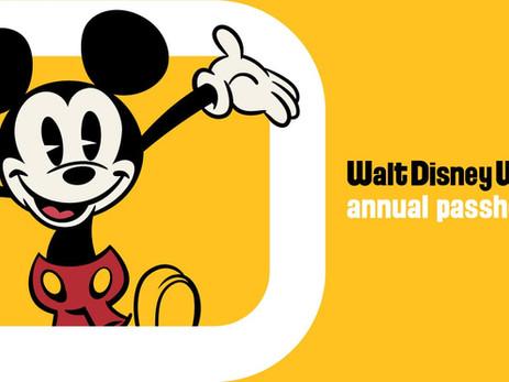 Disney traz de volta o Annual Pass.