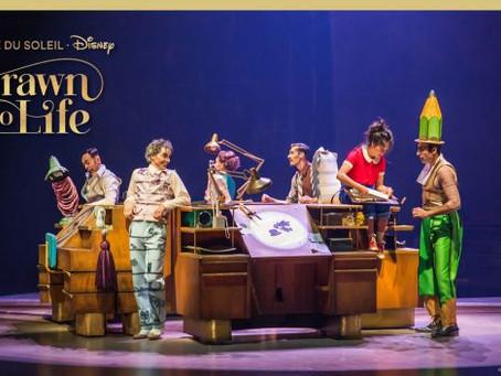 Cirque du Soleil retoma show no Disney Springs.