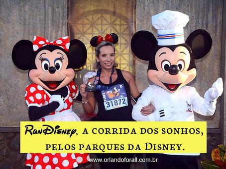 Gosta de corrida? Você pode correr na Disney!