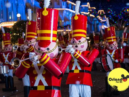 Desfile volta à Disney no Natal.