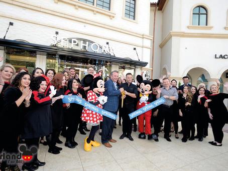 Inauguração Town Center no Disney Springs.