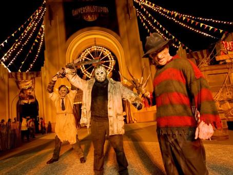 Halloween no Universal Studios 2016.