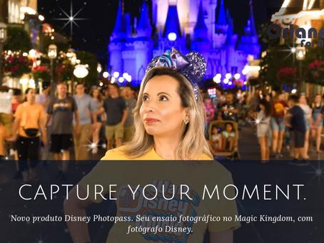 Disney apresenta: Capture your moment.