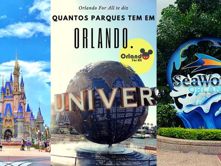 Quantos parques tem em Orlando?