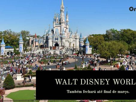 Parques de Orlando fecham, e os cruzeiros Disney estão suspensos.