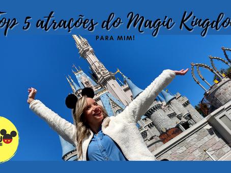 Top 5 Magic Kingdom!