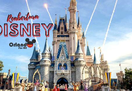 Reabertura Walt Disney World!