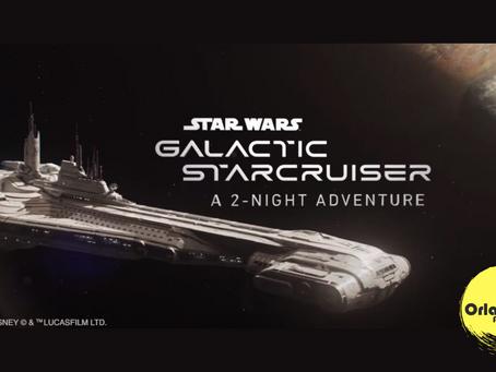 Embarque no 1º hotel imersivo do mundo! Star Wars Galactic Starcruiser Hotel.
