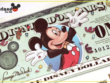 Adeus Disney's dollars.