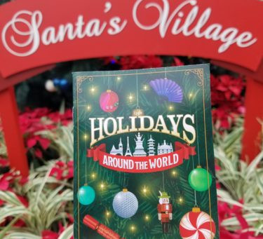 World Showcase traz comidinhas de Natal do mundo inteiro.