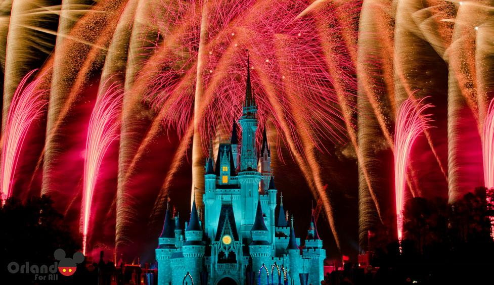Wishes, o incrível show de fogos!