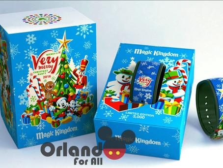 MagicBand especial de Natal!