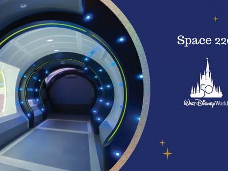 Space 220, novo restaurante do Epcot fica no espaço!