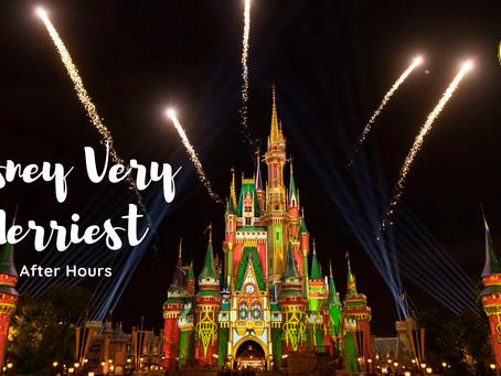 """Novidade: """"Disney Very Merriest After Hours"""" substitui a festa de Natal esse ano."""