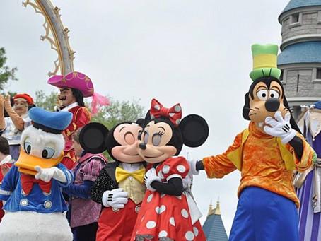 Fim do Dream along com Mickey.