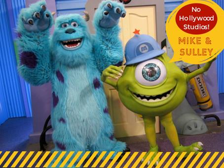Monstros S.A. de volta ao Hollywood Studios.