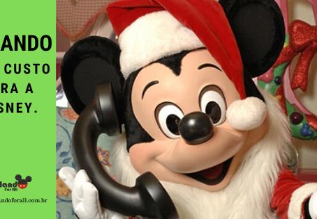 Ligando de graça para a Disney.