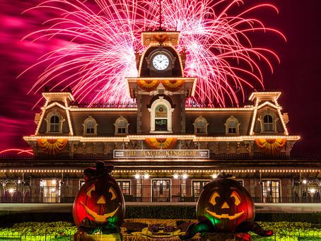 Começou o Halloween na Disney.