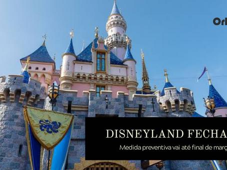 Disneyland na Califórnia fechará temporariamente. Vamos falar de Corona e Disney?
