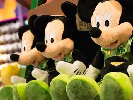 St Patrick's Day no Disney Springs.