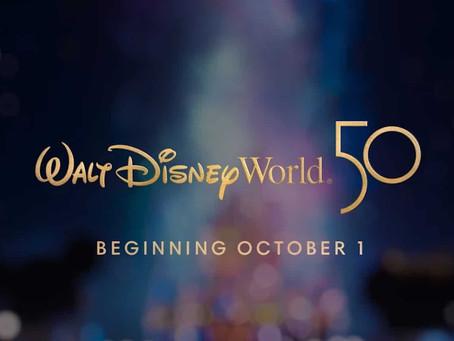 Como será a comemoração de 50 anos do Walt Disney World.