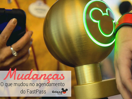 Mudança no uso do FastPass.
