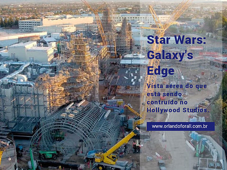 Um voo sobre Star Wars, no Hollywood Studios.