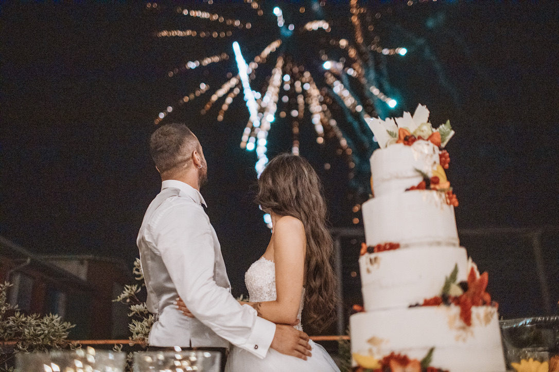 wedding cake parma