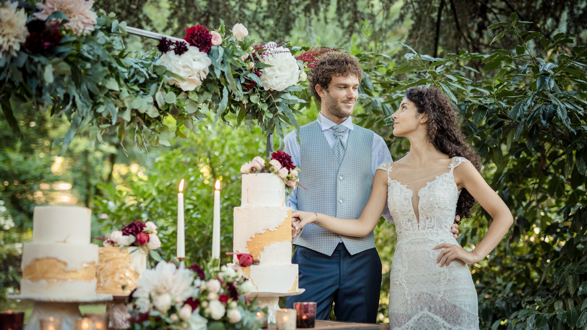 wedding cake italia