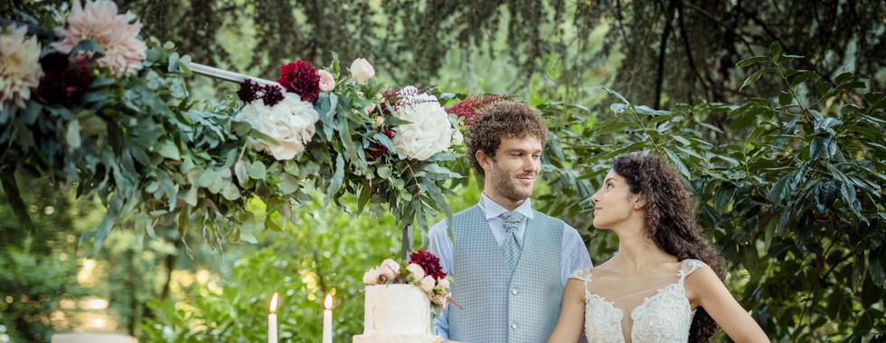 torta matrimonio unica
