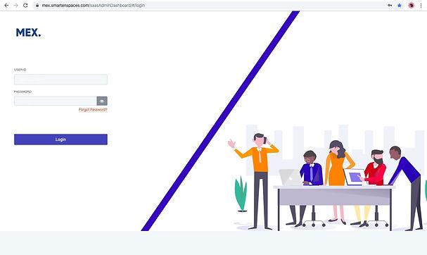 Admin Portal Login Page