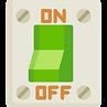 Bouton interrupteur sur Off