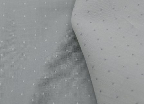 CHAMBRAY GOTS A POIS NUAGE