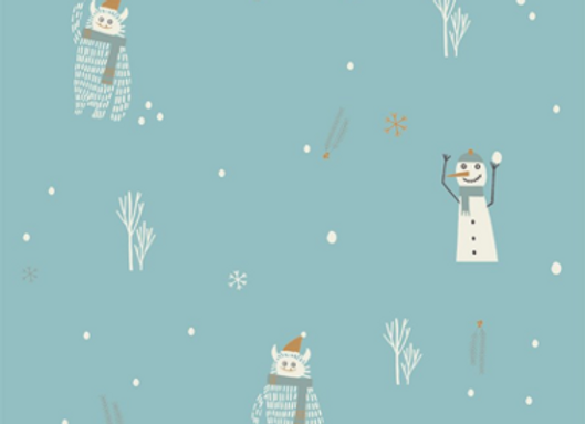 YETI ET SNOWMAN